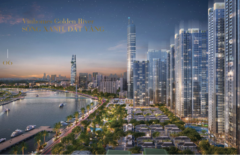 Giá bán siêu dự án căn hộ VinHomes Ba Son - Block Aqua