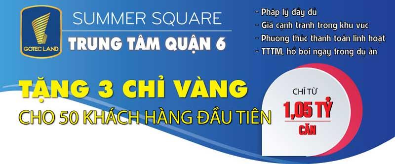 chính sách căn hộ summer square quận 6