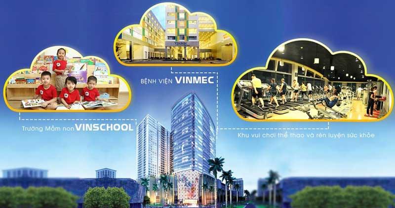 tiện ích dự án  vincity quận 7