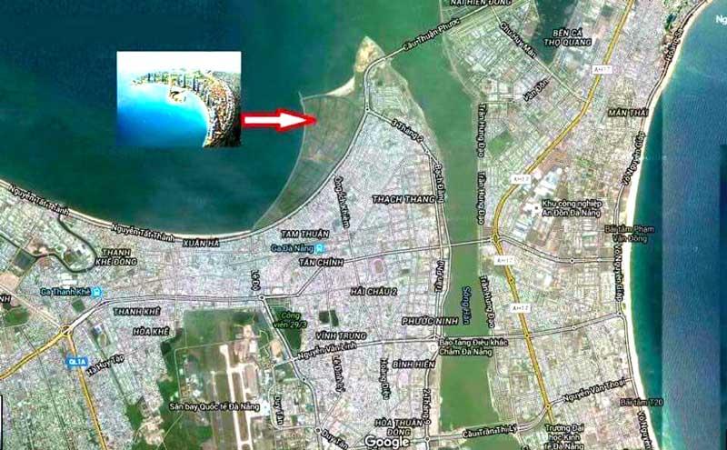 vị trí đắc địa của The Sunrise Bay