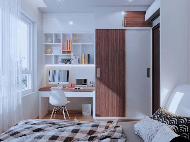 Ánh sáng đóng vai trò quan trọng cho không gian phòng ngủ