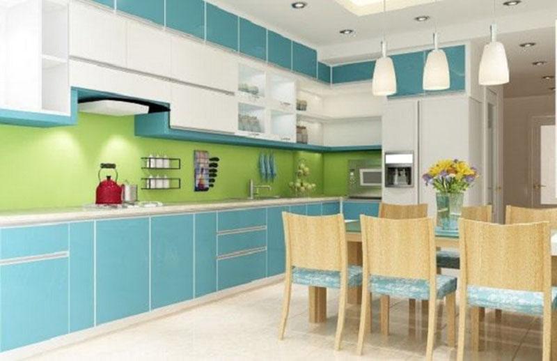 Áp dụng màu chủ đạo giúp ngôi nhà trở nên hiện đại hơn