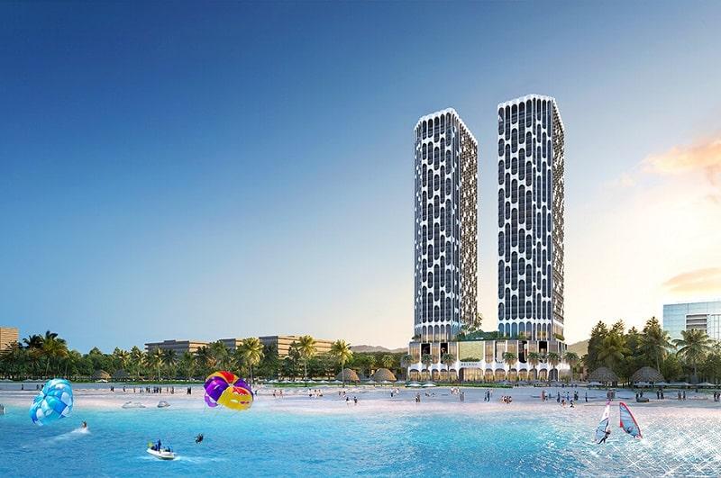 Bãi biển Nguyễn Tất Thành mang đến không gian thư giãn lý tưởng cho cư dân