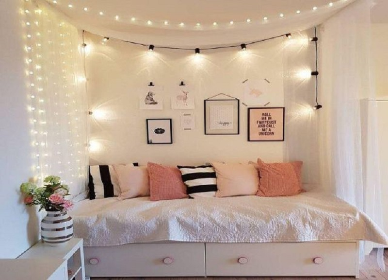 Cách làm đồ trang trí phòng ngủ đơn giản
