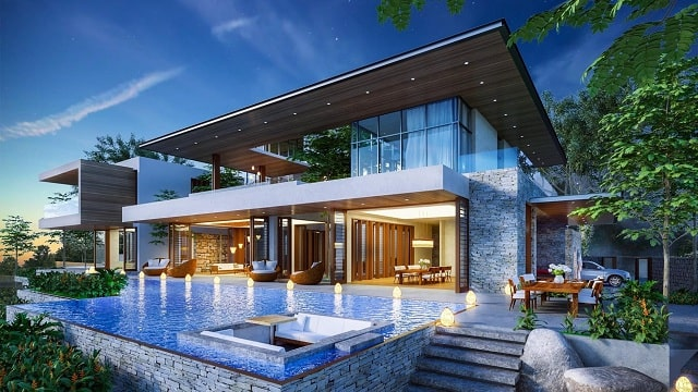 Căn biệt thự biển Selavia Phú Quốc Vịnh Đầm xây dựng theo tiêu chuẩn 5 sao