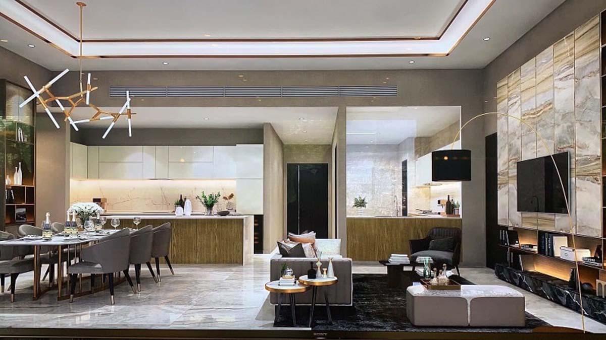 Căn hộ Thảo Điền Green thiết kế với nội thất cao cấp