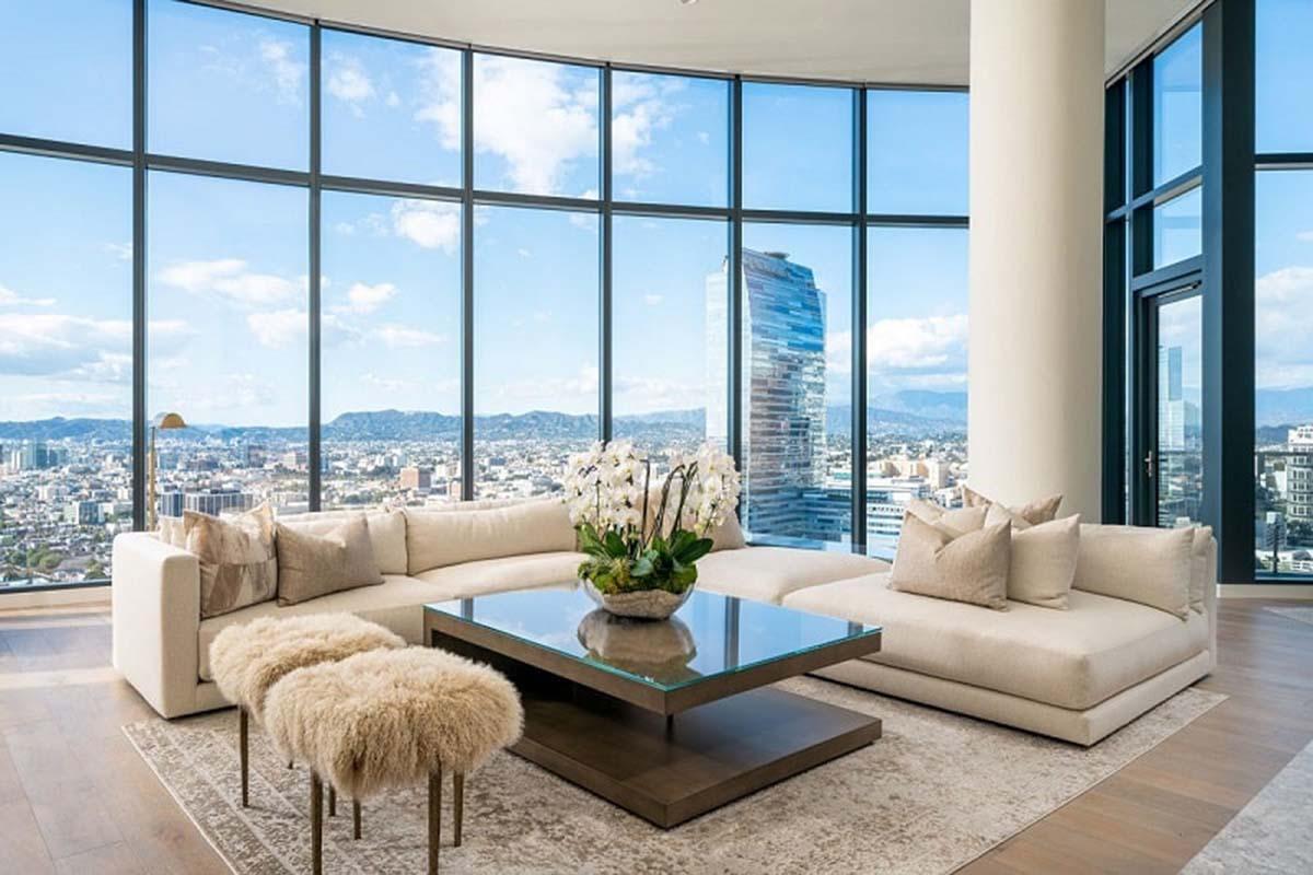 Căn penthouse Thảo Điền Green xây dựng với không gian đẳng cấp