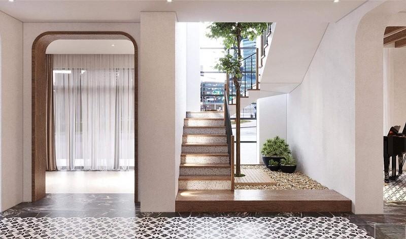 Cầu thang hút – lưu thông những luồng khí – năng lượng cho căn nhà