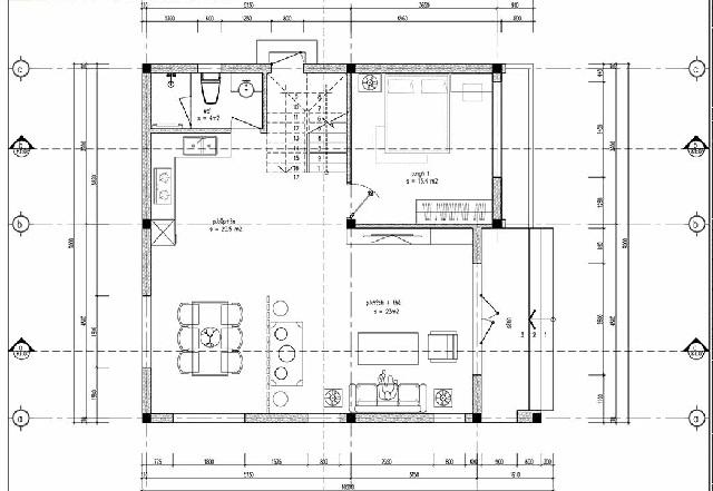 Chi tiết công năng tầng 1 của mẫu nhà