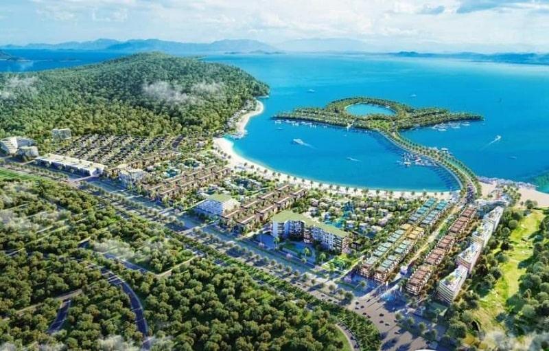 Chi tiết vị trí dự án Selavia Đồng Nai với bãi cát dài trắng mịn bao bọc bởi rừng và biển