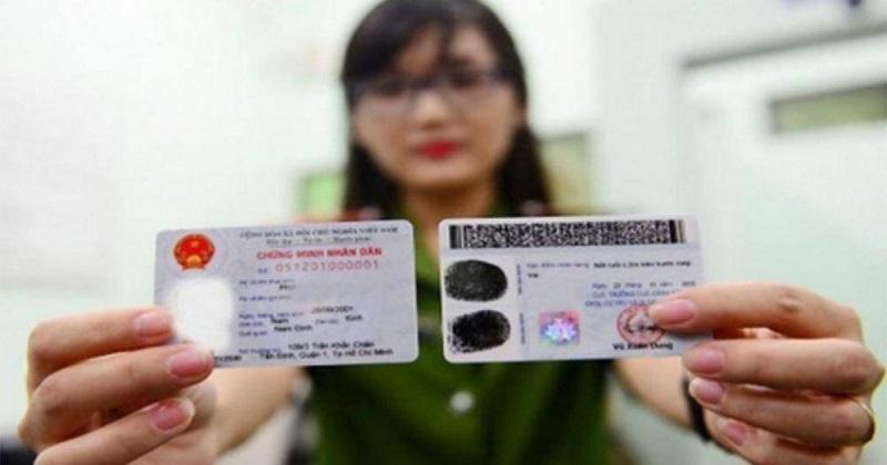 CMND hoặc thẻ căn cước là giấy tờ không thể thiếu trong hồ sơ
