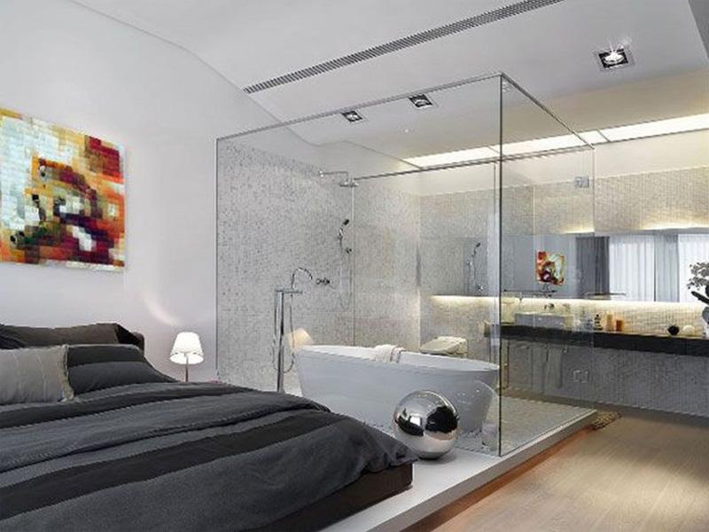 Đặc điểm thiết kế nhà vệ sinh trong phòng ngủ