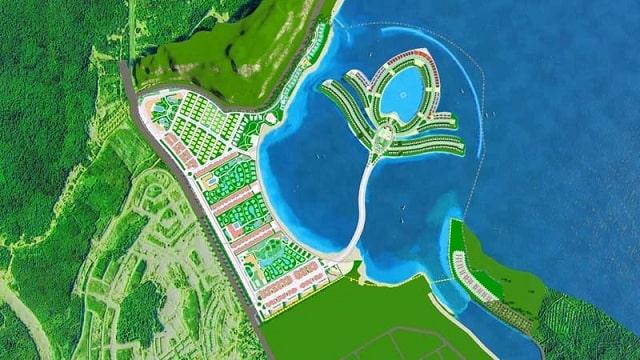 Tổng dự án chia thành 7 phân khu bố trí hoàn thiện phù hợp nhu cầu sử dụng