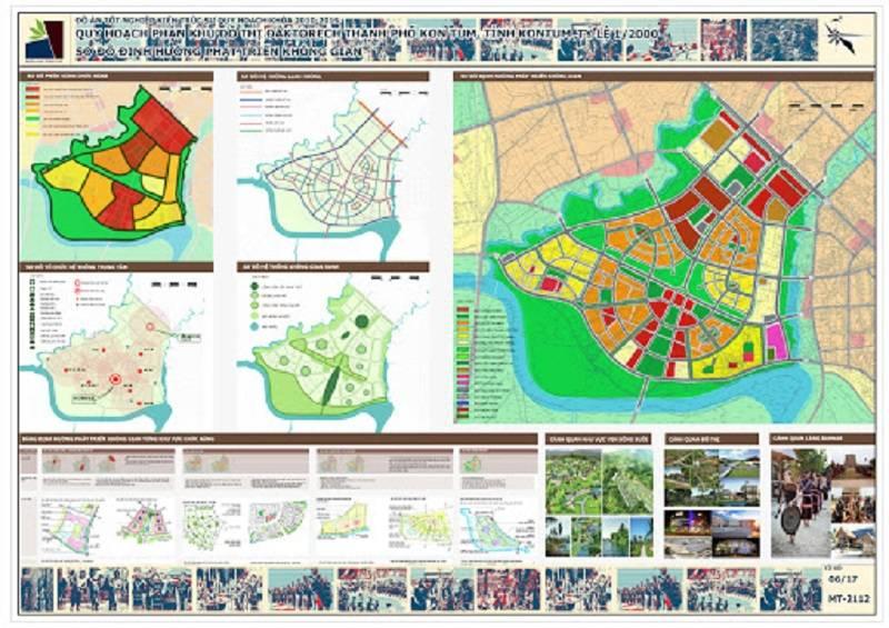 Đồ án quy hoạch khu đô thị Daktorech tinh Kontum