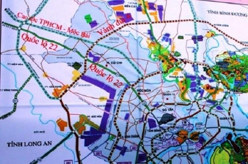 Dự án hưởng lợi từ những quy hoạch về giao thông