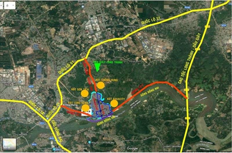 Dự án Izumi City thừa hưởng hệ thống giao thông hoàn thiện ấn tượng