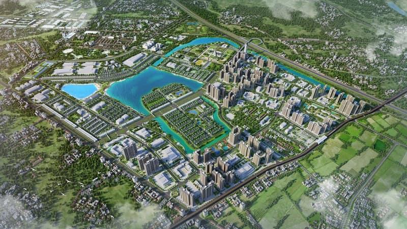 Dự án khu đô thị biển hồ Vinhomes Ocean Park