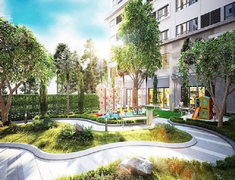Dự án One Central nổi bật với không gian xanh tràn ngập tiện ích
