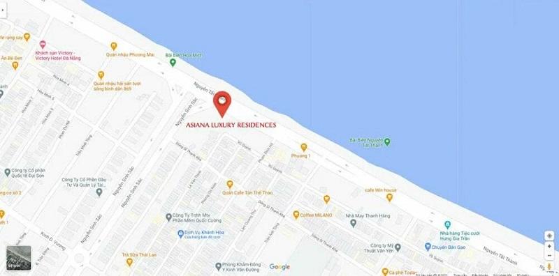 Dự án tọa lạc bên cung đường biển đẹp nhất Việt Nam