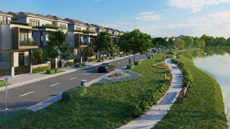 Đường chạy bộ ven sông của dự án Izumi City dài 32km