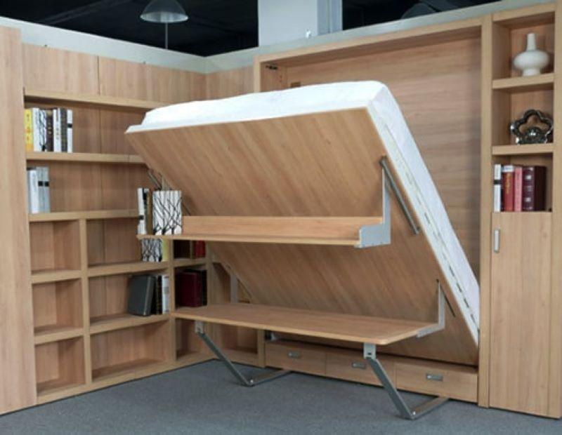 Giường gấp kết hợp bàn học dễ dàng sử dụng
