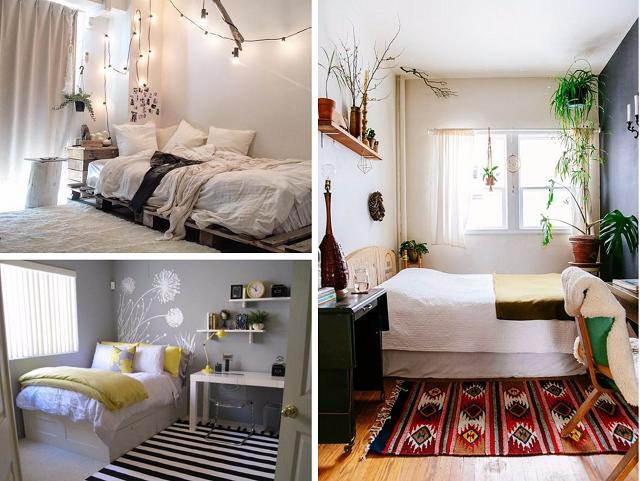 Gợi ý cách trang trí phòng ngủ nhỏ