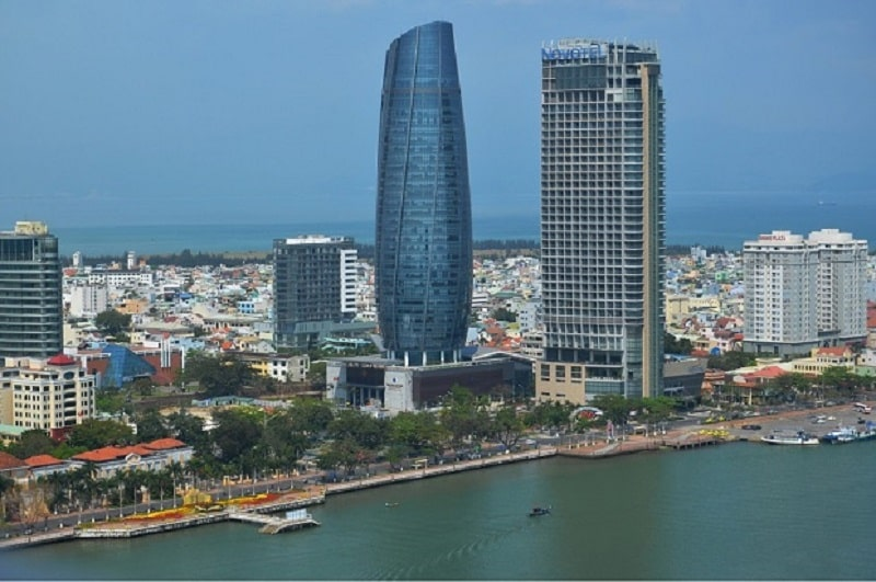 Hải Chậu nơi tập trung nhiều cư dân sinh sống làm việc