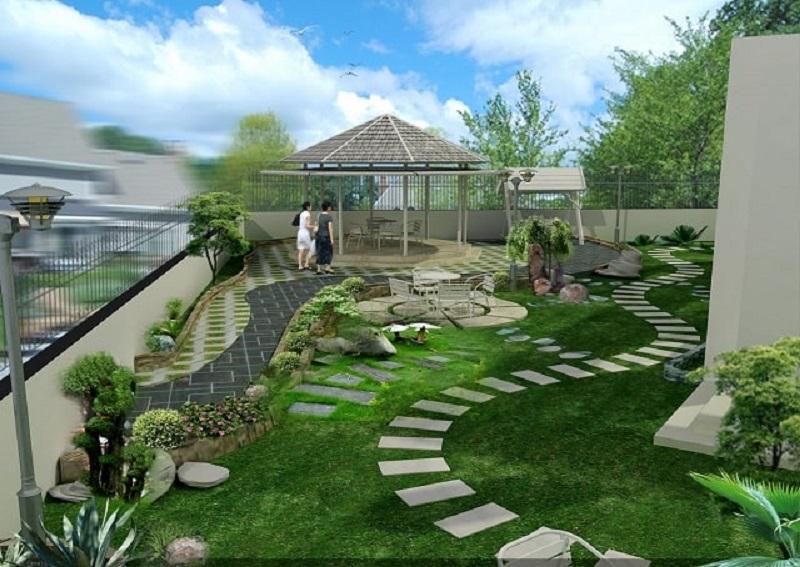 Hãy cân nhắc kiểu thiết kế sân vườn phù hợp để nâng cao giá trị thẩm mỹ