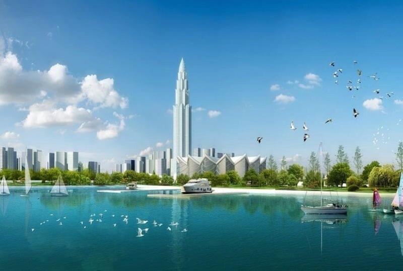 Hình ảnh dự kiến cho tòa nhà Phương Trạch Tower