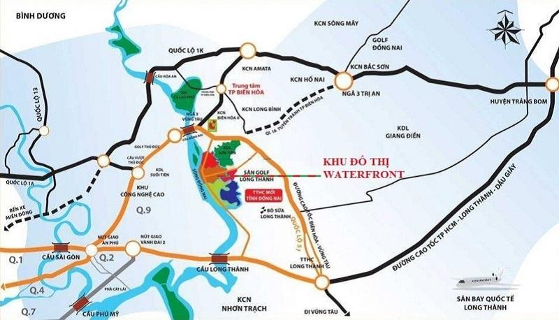 Izumi City tọa lạc tại vị trí đắc địa hoàn hảo có một không hai thu hút nhà đầu tư