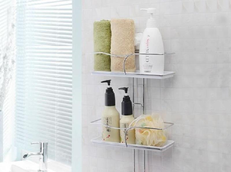 Kệ phòng tắm bằng inox