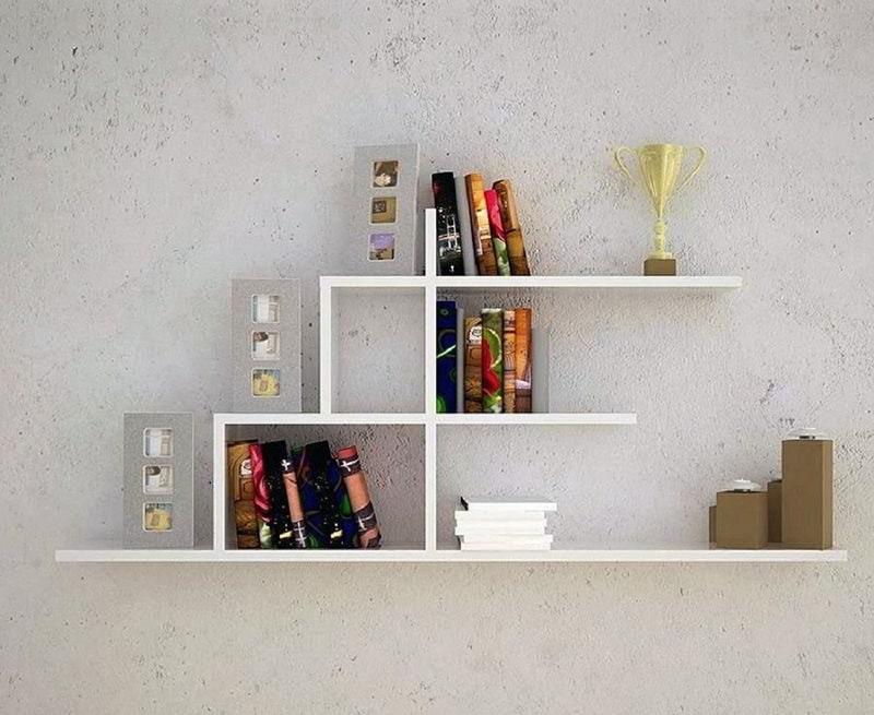 Kệ tủ sách trang trí độc đáo