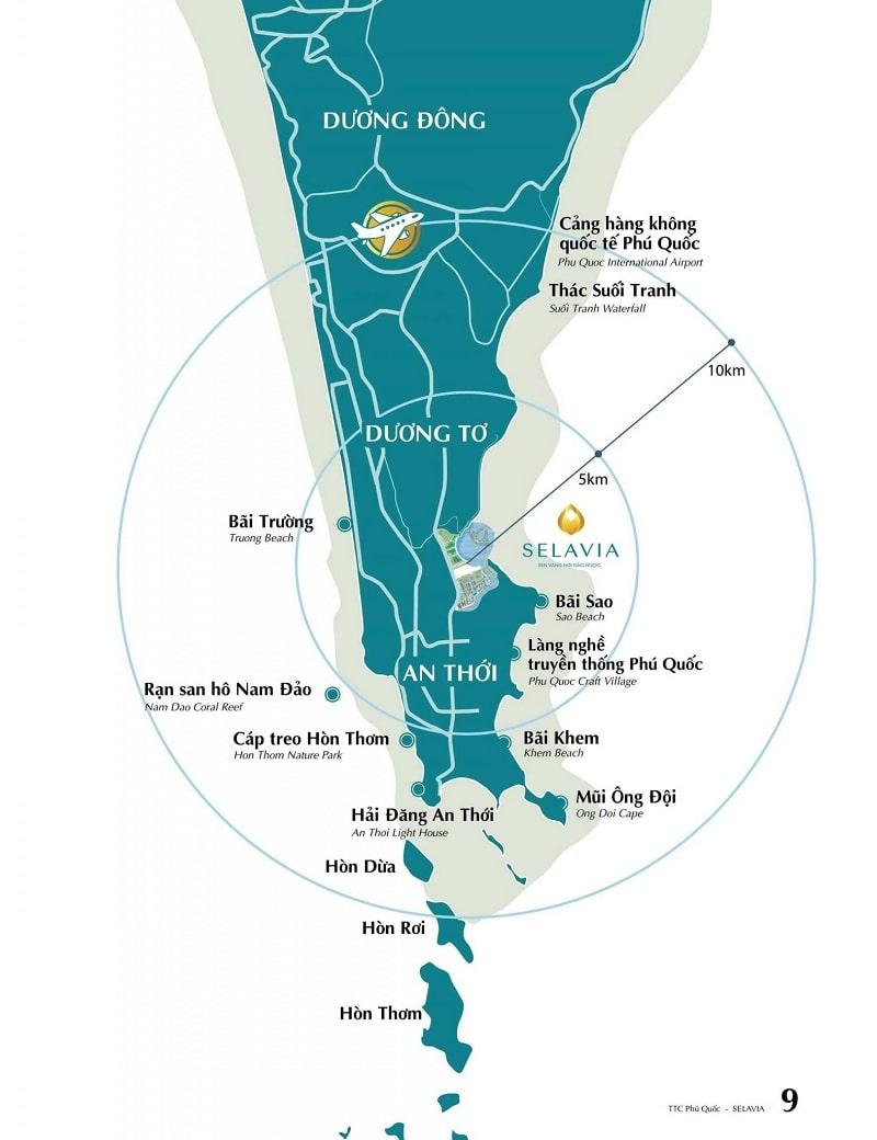 Khả năng kết nối Selavia Phú Quốc ấn tượng