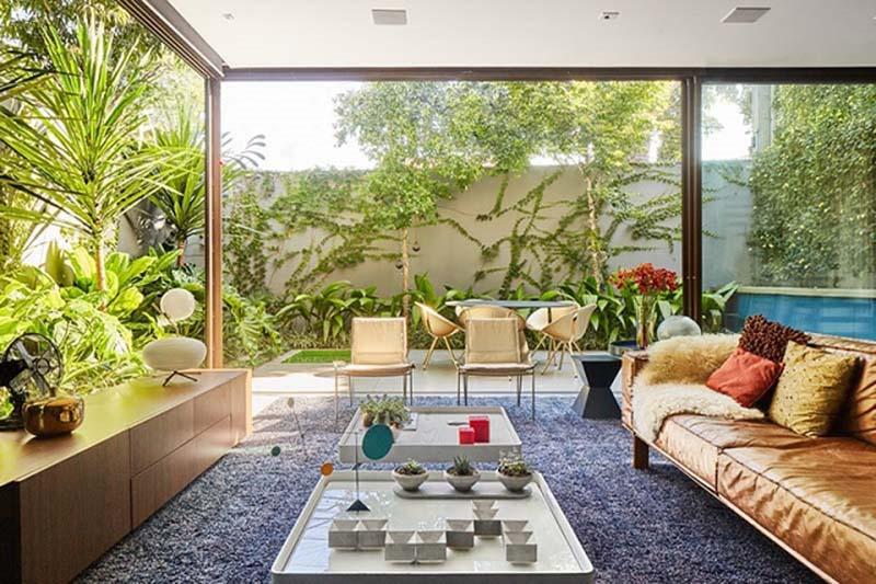 Không gian mở giúp căn nhà trở nên rộng rãi và thoáng đãng hơn