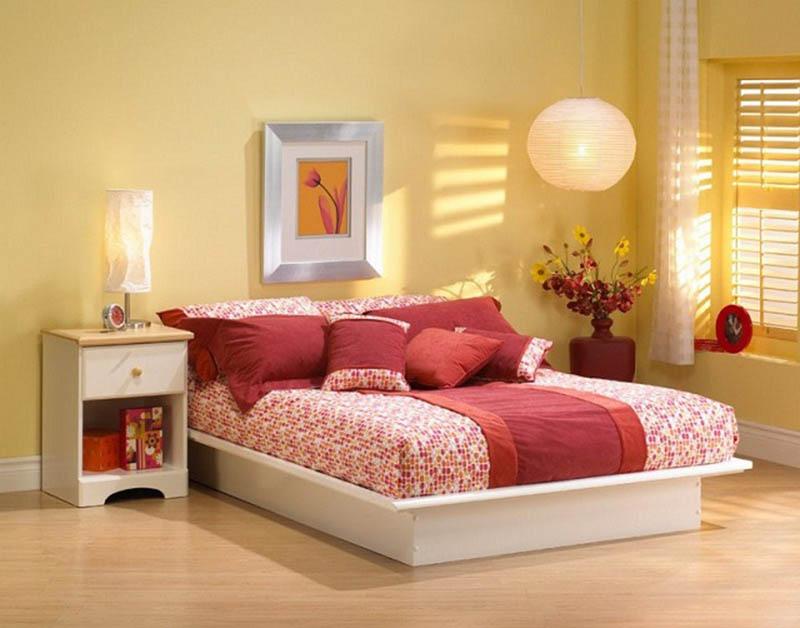 Không gian ngủ cần đủ ánh sáng, không quá sáng cũng không được tăm tối