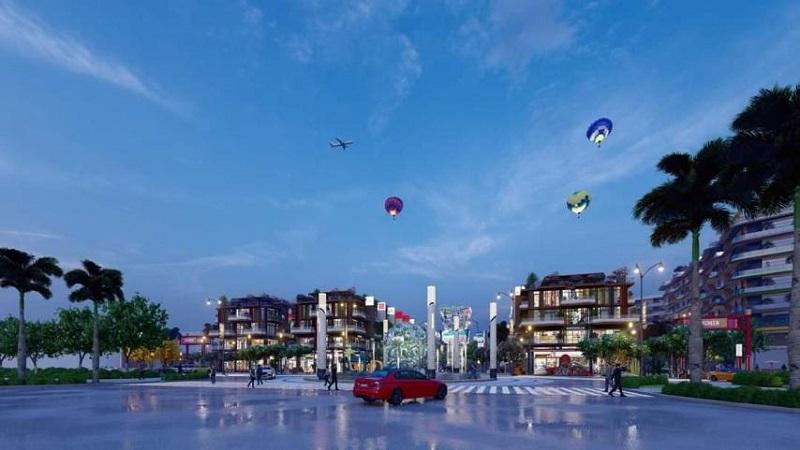 Khu quảng trường dự án sở hữu số lượng tiện ích khổng lồ
