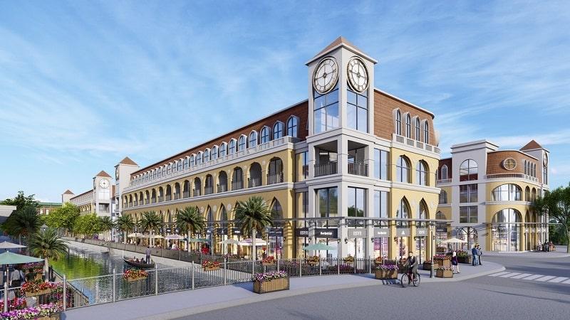 Khu trung tâm thương mại tích hợp đầy đủ không gian mua sắm, ăn uống, vui chơi