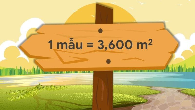 Khu vực Trung Bộ thì 1 công đất bằng bao nhiêu m2?