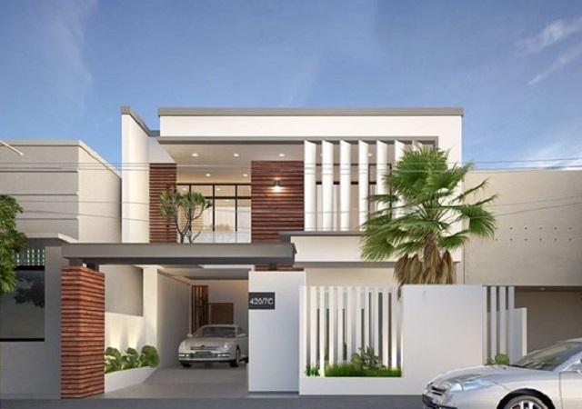 Kiến trúc ngôi nhà thiết kế đẹp mắt sẽ giúp tổng thể ngôi nhà trở nên đẹp hơn