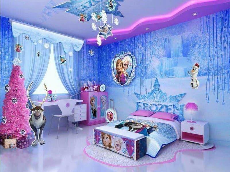Kiểu phòng công chúa Elsa
