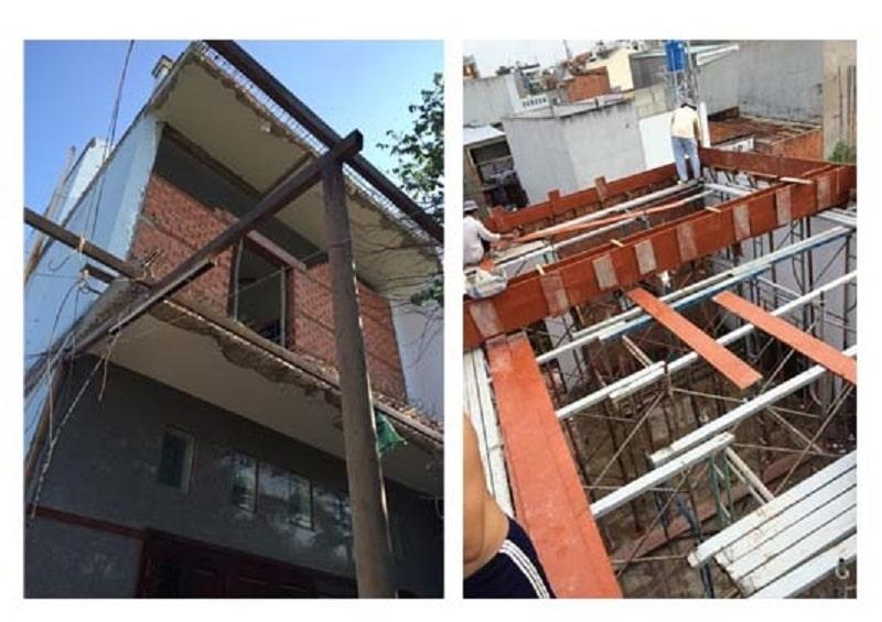 Làm cách nào để nâng tầng nhà an toàn?