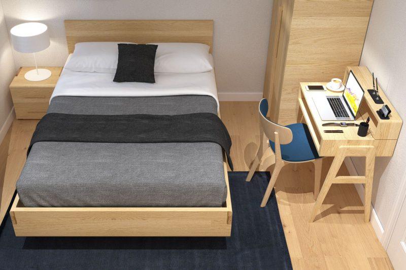 Lựa chọn màu sắc nội thất phòng ngủ hợp với phong thủy