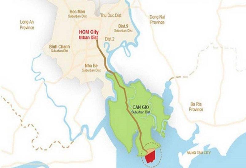 Mạng lưới giao thông quanh dự án được UBND thành phố tích cực quy hoạch