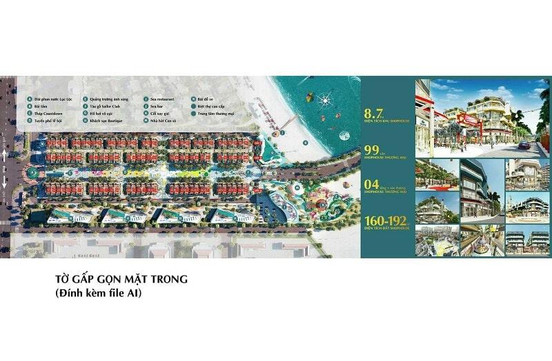 Chi tiết mặt bằng dự án Selavia Phú Quốc hấp dẫn ánh nhìn với kiến trúc độc đáo