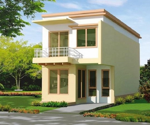 Mẫu nhà 2 tầng thiết kế đơn giản