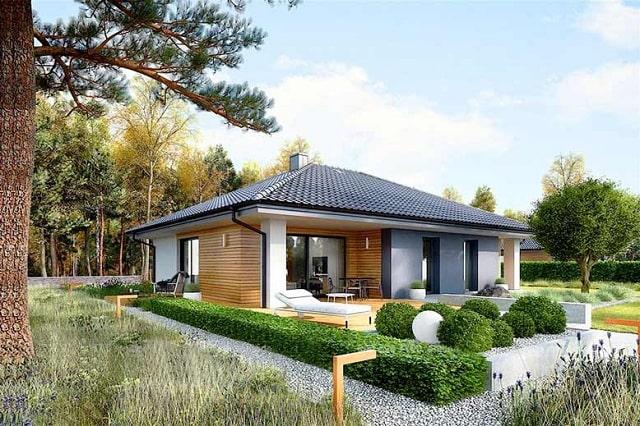 Mẫu nhà vườn mang tới không gian sống xanh, thoáng mát