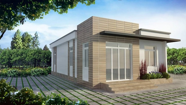 Màu sắc giúp tô điểm cho ngôi nhà trở nên đẹp và nổi bật hơn
