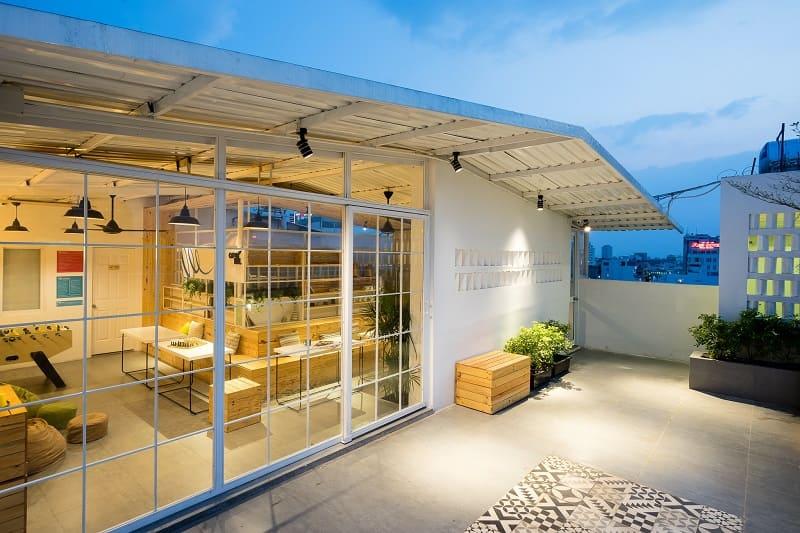 Thiết kế cải tạo sân thượng thành phòng ngủ 2