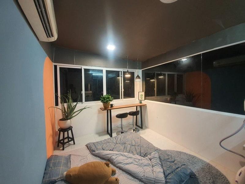 Mẫu cải tạo sân thượng thành phòng ngủ 3