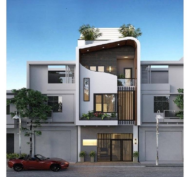 Mẫu thiết kế nhà đẹp 3 tầng  6x15m